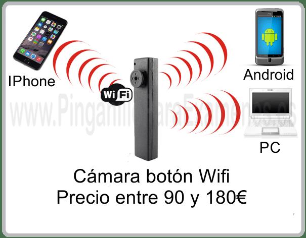 Cámara botón Wifi para exámenes