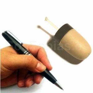 Pinganillo Vip Pro Super Mini con Bolígrafo