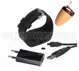 Pinganillo Bluetooth reloj trasero