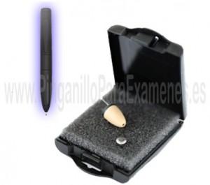 Pinganillo Bluetooth con boligrafo